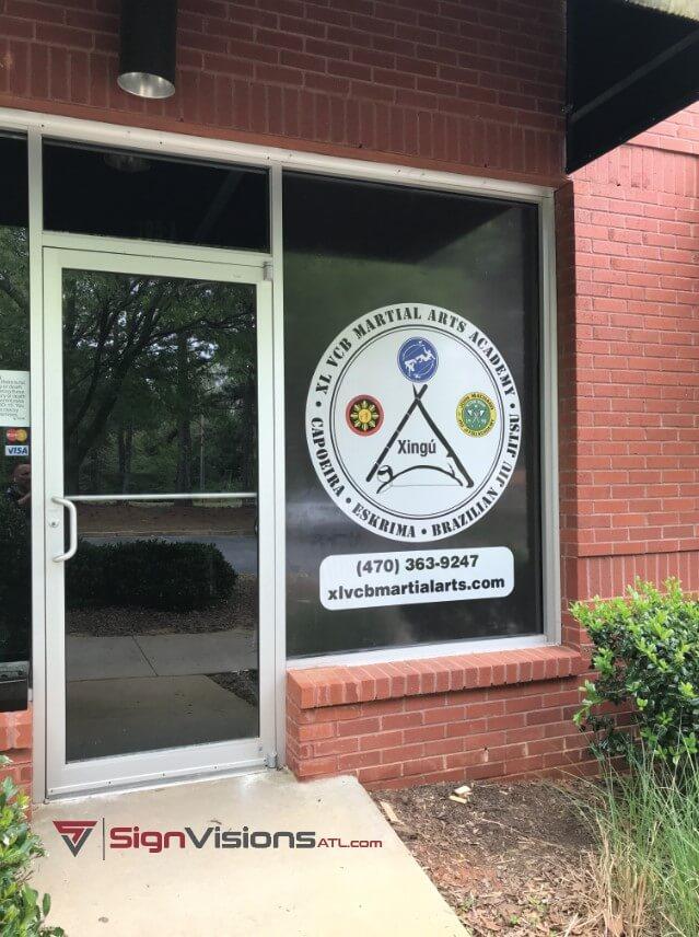 Window Graphics in Peachtree City GA